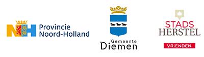 Logo Gemeente Provincie Nh Gemeente Diemen Vrienden Van Sh 400x112