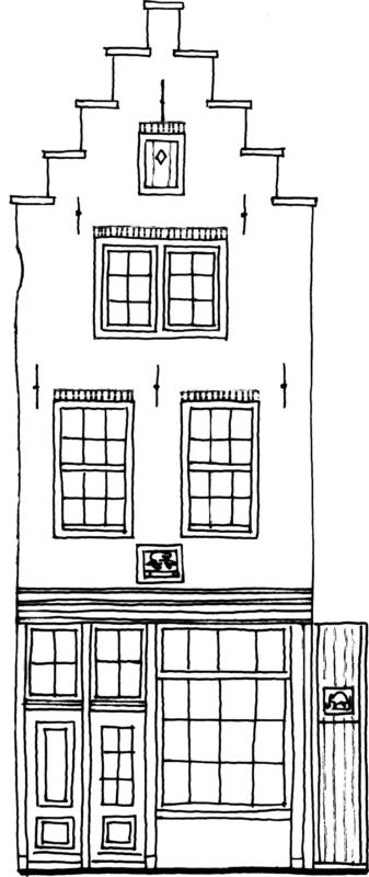 Tekening Gevel Pand St Annenstraat 169 750