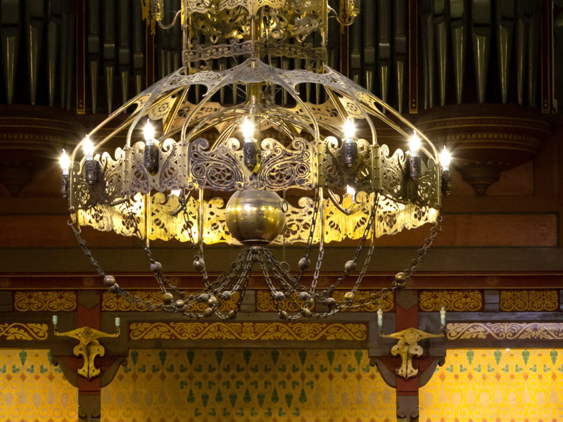 Vanhoutenkerk Kroonluchter