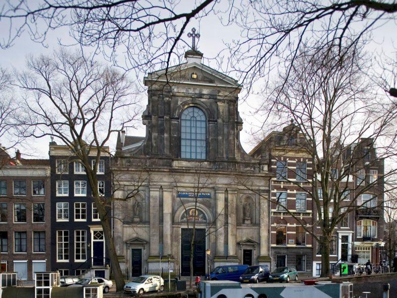 Nederland, Amsterdam, 22 maart 2006De Duif, kerk uit 1857 aan de PrinsengrachtFoto: Thomas Schlijper - Copyright Thomas Schlijper