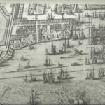 Kaart uit 1625 van het gebied. Van Berckenrode.