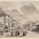 1781, Deventer houtmarkt tijdens het loofhuttenfeest. Wagenaar JR, Pieter.