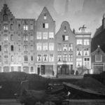 Egelantiersgracht 46, uiterst links, anno 1940.
