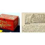 In 1893 verkoopt de winkel op dit adres Eureka Thee.