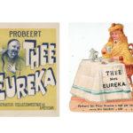 Reclameposters van Eureka thee.