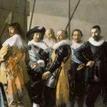 2 Schutters van wijk XI onder leiding van kapitein Reynier Reael, bekend als 'De magere compagnie', Frans Hals, Pieter Codde, 1637