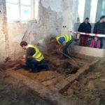 Archeologisch onderzoek tijdens archeologiedagen.