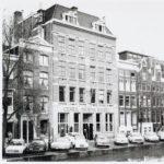 Broodfabriek Ceres op de Nieuwe Prinsengracht, met rechts daarvan ons pand nummer 43. (1968)