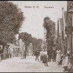De Dorpsstraat. Anno 1900.