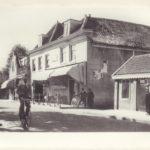 Het dorp Sloten met politiebureau (1939). Foto: Werkgroep Dorpsraad Sloten.