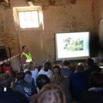 Lezing over archeologie in Huis ter Kleef.