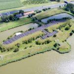 Luchtfoto van het fort
