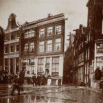 Nieuwezijds Voorburgwal Sint Nicolaastraat, d.d. 1908