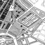 Door de oorlog verwoeste panden Jodenbuurt detail. (1945).