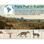 De dieren van Frans Post in Brazilië.