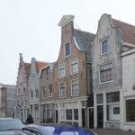 Monumenten van Stadsherstel in de Spaarnwouderstraat.