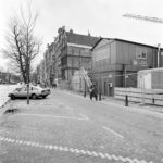 Nieuwe Herengracht 45 ingepakt, Foto: Han van Gool.