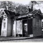 Openbaar toilet ter hoogte van de Nieuwezijds Voorburgwal.