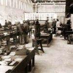 Semensfabriek bij kamp Bobrek.