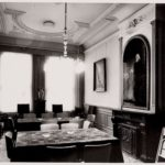 Vergaderzaal 1e verdieping achter, 1973 Arsath Ro Is, J.M.
