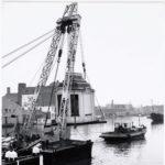 Verplaatsing naar de Zaanse schans in 1967. Foto: gemeentearchief Zaandam.