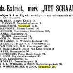 Krantenartikel. 30-11-1902, Het Volk.