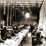 Siemensfabriek bij kamp Bobrek.