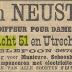 Champoneeren voor dames, 1905