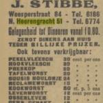Winkel van J. Stibbe aan de Nieuwe Herengracht 51