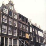 Binnen Brouwersstraat zonder top voor restauratie (1991).