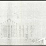 Gevelaanzicht Marnixstraat 58 (1872).