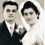 Jules Schelvis met zijn vrouw.
