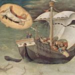 Sint Nicolaas beschermheilige van de zeevaarders.