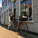 Suzette in de Spaarnwouderstraat.