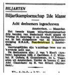 1933 biljart.
