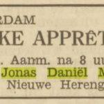 1935, het Volk.