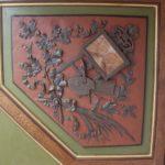 Detail hoekstuk 2de, voorstellende ambacht schilderkunst.