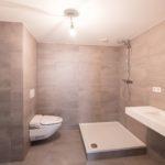 Badkamer in appartement.
