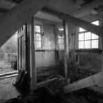 Binnen voor restauratie. Foto: Han van Gool (1983).