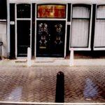 Stoep voor restauratie van de Egelantiersgracht 46.