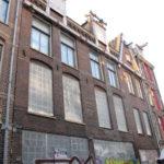 Foeliedwarsstraat 40-52 voor restauratie door Stadsherstel.