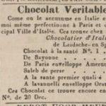 Huurder in 1841, Algemeen Handelsblad 1841