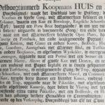 Verkoop d.d. 1800 omschrijving