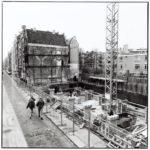 Panden afgebroken vanwege metro. Foto: Stadsarchief Amsterdam (1992).