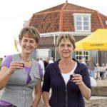 Initiatiefnemers van de horeca Heleen en Marleen