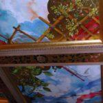 Mooie plafondschilderingen.