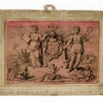 Het wapen van De Pinto met vijf liggende manen. Afbeelding: Geheugen van Nederland.