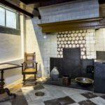 De keuken van Kerfbijl opgenomen in de Cromhouthuizen.