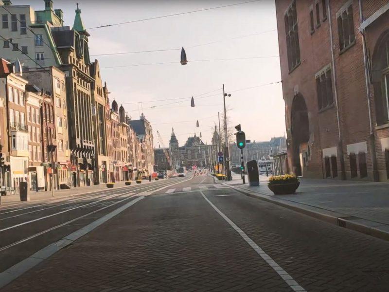 Shot video Stadsherstel 'De stille stad'
