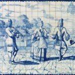 De dansles; gemaakt voor een stadspaleis in Portugal.